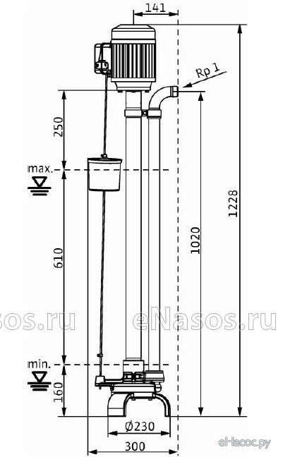 Насос WILO VC32/10 3-400